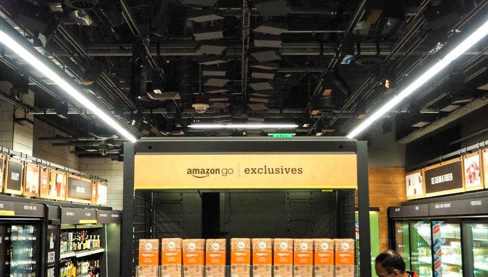 扫手掌付钱?亚马逊新技术引市场骚动 应用前景存疑