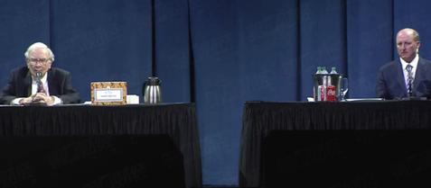 巴菲特股东大会花絮:人生中首次学用PPT 糖果和可乐仍是最爱