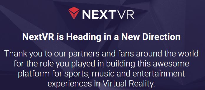 苹果收购虚拟现实公司NextVR   初显VR野心
