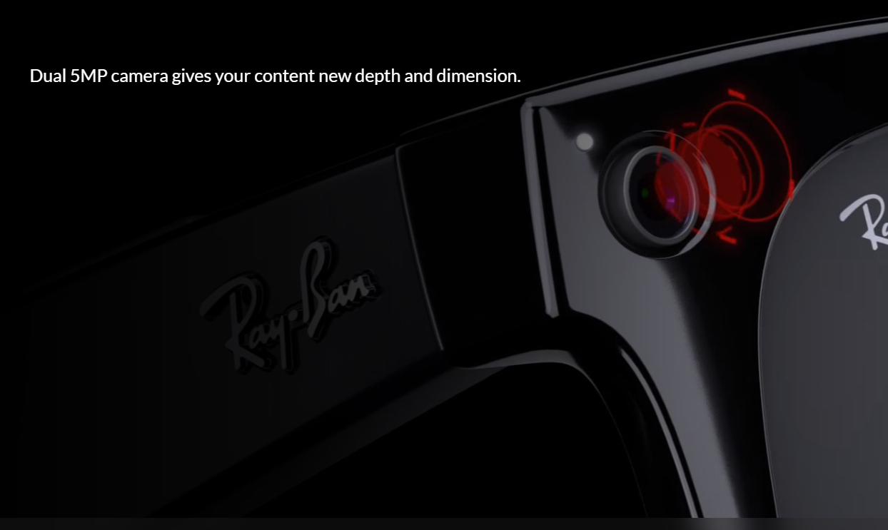 """Facebook推首款智能眼镜 朝实现""""实AR""""可穿戴设备迈出第一步  眼镜 智能眼镜 智能穿戴 穿戴设备 ar眼镜 脸书 第1张"""